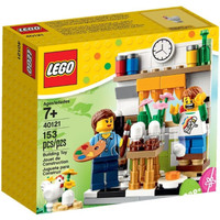 LEGO 40121 - Brick and More - Painting Easter Eggs