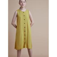 Dress Angela Tanpa Lengan