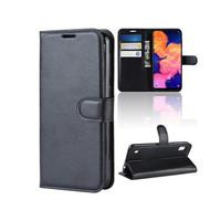 Samsung A10 Dompet Kulit PU Flip Case 1652