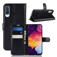 Samsung A50 Dompet Kulit PU Flip Case 1647