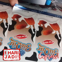Cetak Stiker Label Vinyl Tahan Air sdh Termasuk Potong