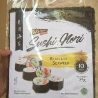 Murah Sushi nori takaokaya. lembaran rumput laut roasted seaweed