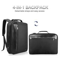 TIGERNU Tas Ransel Backpack Bisnis 4 in 1 Style USB Charger - T-B3639
