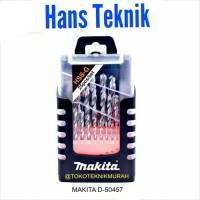 Mata Bor Besi Makita HSS 25 Pcs Drill Bits D-50457 1 - 13 mm