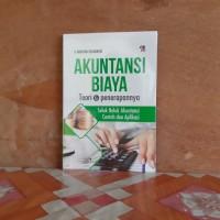 Buku Akuntansi Biaya Teori & Penerapannya