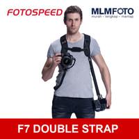 FOTOSPEED F7 DOUBLE STRAP PRO QUICK STRAP SELEMPANG