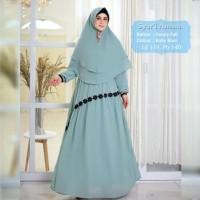 Baju Muslim Gamis Syari Ananta Baby Blue Tashi.421