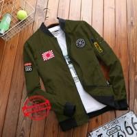 Baju Atasan Pria Jaket Bomber Memphis Army Tapap.110