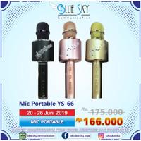 PROMO MIC PORTABLE YS-66 /MIC BLUETOOTH/ MIC WIRELESS