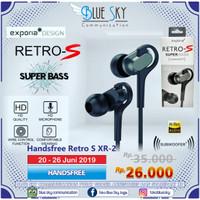 PROMO HANDSFREE/HEADSET/EARPHONE/ RETRO S XR-2 BASS