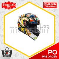 AGV Unisex-Adult Full Face K-1 Dreamtime Motorcycle Helmet Multi ORI
