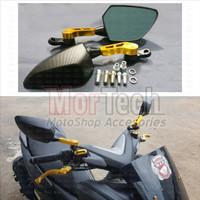 CNC Kaca Spion Sepion Model Ducati Supra Kharisma Smash Jupiter Vega