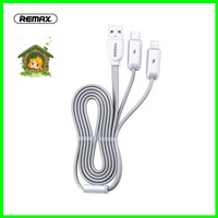 REMAX Twins 3 in 1 Cable RC-078th Kabel Micro USB - Lightning - Type C