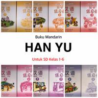 Paket Buku Han Yu Jilid 1-6 / Hanyu 1-6 / Buku Mandarin Hanyu 1-6
