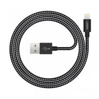 AUKEY CB-D16 - Nylon MFI Lightning Cable for iPod-iPhone-iPad - 1.2M