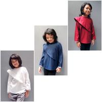 Kicau Kecil Kalula Shirt - atasan anak perempuan