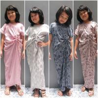 KiddoKiddi Naima Kaftan – baju muslim anak perempuan