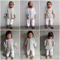 KukuBelo – Rami, Rima - setelan baju muslim anak lakilaki/perempuan