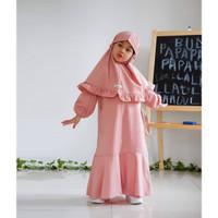 Lovebird Gazhira Gamis - baju muslim gamis anak