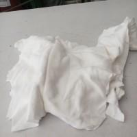 Kain Majun Putih. kain lap. kain kaos. kain halus