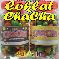 Cokelat Coklat Delfi Chacha Peanut Kacang Susu Ca Cha Nut Milk Toples