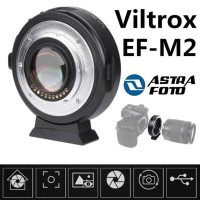 VILTROX SPEEDBOOSTER EF-M2 ADAPTER CANON LENS EF TO LUMIX OLYMPUS M43