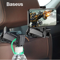 Baseus Happer Phone Bracket Car Headrest Holder Hook for 4.0-6.5 Inch