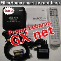 TVBOX ANDROID FIBERHOME H680 ROOT FULL APLIKASI RAM 2 giga (BARU)