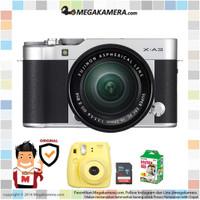 Fujifilm / Fuji X-A3 / XA3 Kit 16-50mm Kamera Mirrorless - Silver