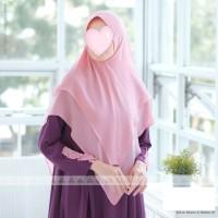 Safwa Khimar by Jasmine jilbab ceruty babydoll 2 layer best seller