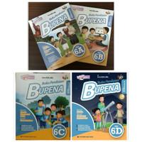 BUPENA - Buku Penilaian Untuk SD/MI Kelas 6 Jilid 6A 6B 6C 6D K-2013
