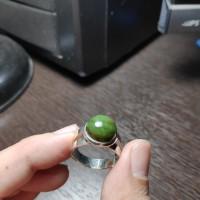 Cincin giok nephrite jade aceh 100% asli