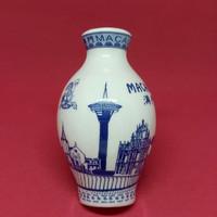 Souvenir magnet kulkas Guci kramik Macau oleh oleh negara China