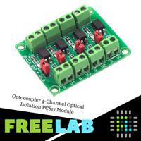 Optocoupler 4-Channel Optical Isolation PC817 Module