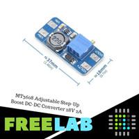 MT3608 Adjustable Step-Up Boost DC-DC Converter 28V 2A