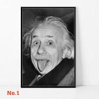 Poster Albert Einstein The Great Scientist Ilmuan Ukuran Besar 60x90cm