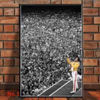 Poster Freddie Mercury Queen Band Music Ukuran Besar 60x90cm
