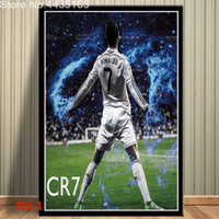 Poster Cristiano Ronaldo Juventus Real Madrid Ukuran Besar 60x90cm
