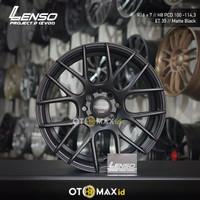 Velg Mobil Lenso Project-D (EVO-1) Ring 16 Matt Black