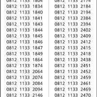 Perdana Simpati Seri double 1133 hoki 0812 1133xx