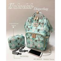 Tas Bayi Diaper Bag Dokoclub FREE POUCH Diaper Backpack