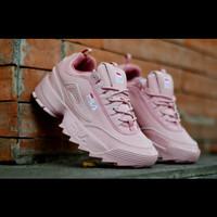 Sepatu Sneakers Fila Distruptor Import Vietnam Running For Girl