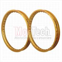 Velg Pelek Rim Ruji Jari Jari Rossi Type W Ring 17-140/160 Blade Gold