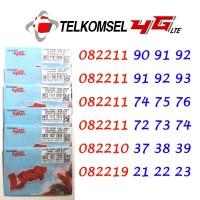 Perdana Nomor Cantik Simpati Loop 4G LTE 0822 11 90 91 92
