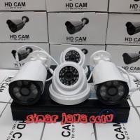 PROMO PAKET CCTV FULL HD 3MP 4CHANEL(KMPLIT TGGL PSNG AJA)