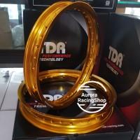 Velg TDR W Shape Set 17 x 185 / 215 warna Gold