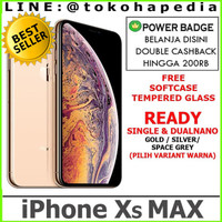 DUAL NANO IPHONE XS MAX 256GB GOLD SILVER SPACE GREY / GRAY