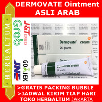Dermovate Cream / Hijau / Dermovate Arab - Ada Barcode