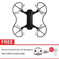BRICA B-PRO 5 SE Sky Explorer Drone + Remote 32GB - White T-shirt