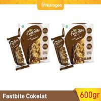 Prosana Fastbite Sereal Bar Tinggi Serat (2 Box x 12 pcs) Coklat